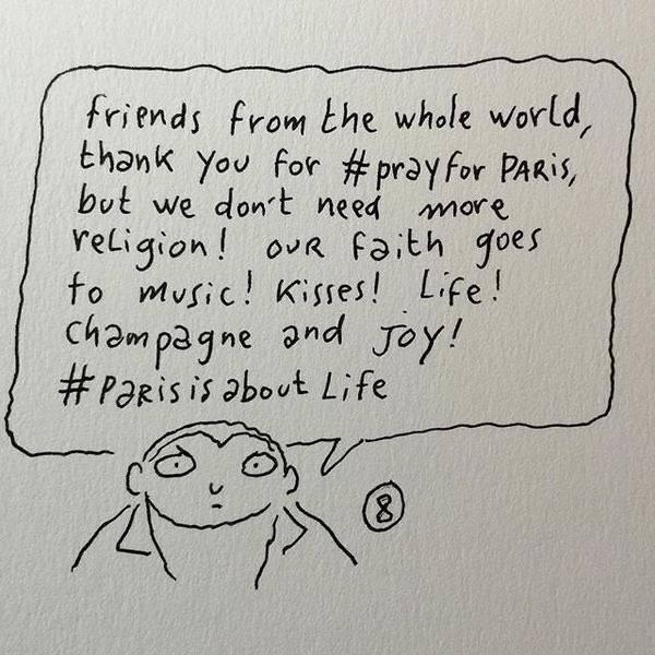 charlie hebdo - Estamos con París. #jesuisparis #prayforparis