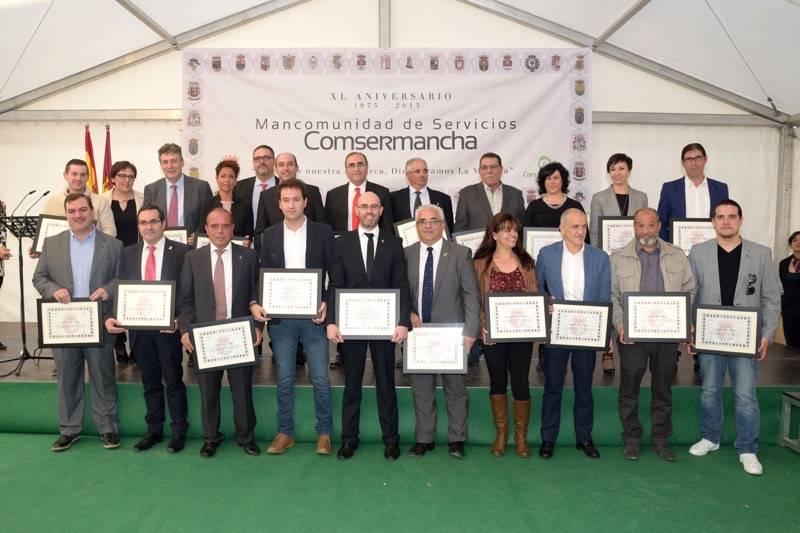 Comsermancha homenajea a sus 146 alcaldes y concejales que han construido la Mancomunidad 1