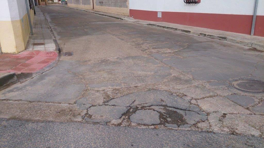 inicio callejon don virgilio - Presentado un Plan de Asfaltado para nuestra localidad