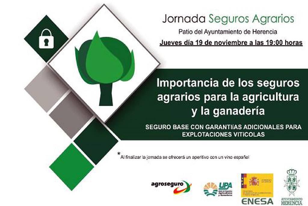 jornada de seguros agrarios en Herencia - Jornada sobre seguros agrarios en Herencia