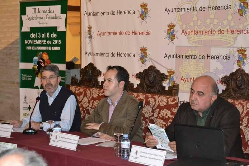 jornadas herencia - Herencia acoge las III Jornadas de Agricultura y Ganadería