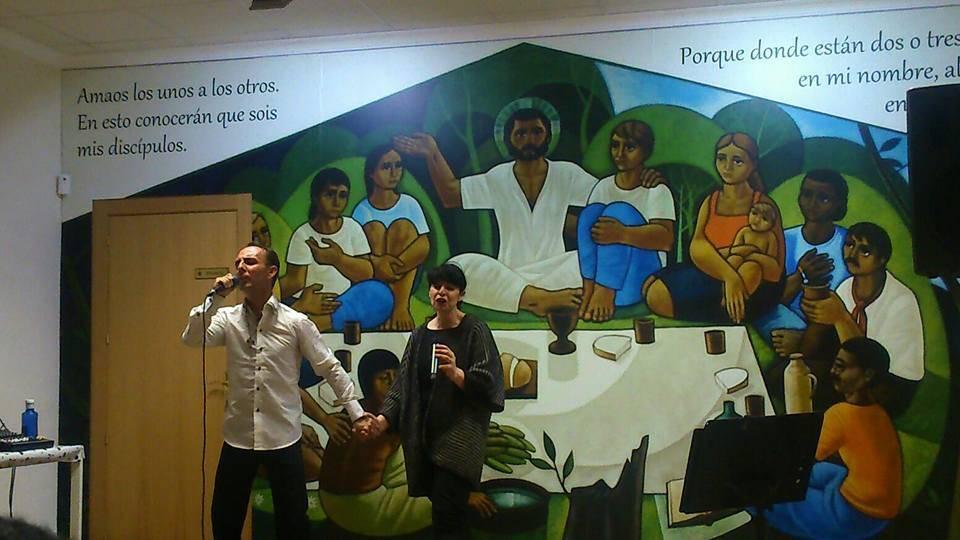 miembros de cis Adar durante su concierto en Dos Barrios - Miembros de Cis Adar actuaron en Dos Barrios