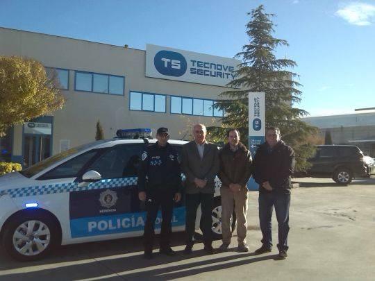 nuevo coche policia local herencia - Nuevo vehículo para la Policía Local
