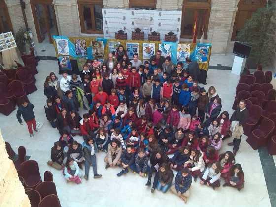 pleno escolar 2015 en herencia 3 560x420 - Celebrado el tradicional pleno escolar con motivo del Día de la Constitución