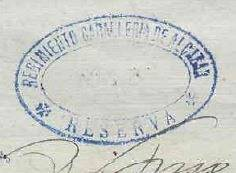 """sello reserva telesforo - La """"mili"""" a finales del siglo XIX"""