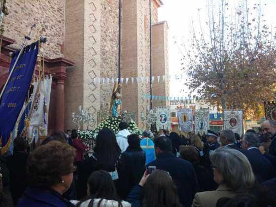 59Procesion de la Inmaculada en Herencia 2015 560x420 - Fotografías y vídeos de las fiestas de la Inmaculada Concepción