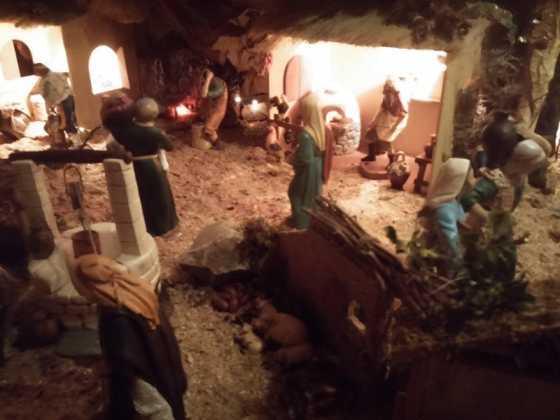 Belen Ascension Diaz Raseron02 560x420 - Muestra de belenes populares de Herencia. Fotogalería