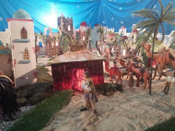 Belen de Jesus Chamusca02 560x420 - Muestra de belenes populares de Herencia. Fotogalería