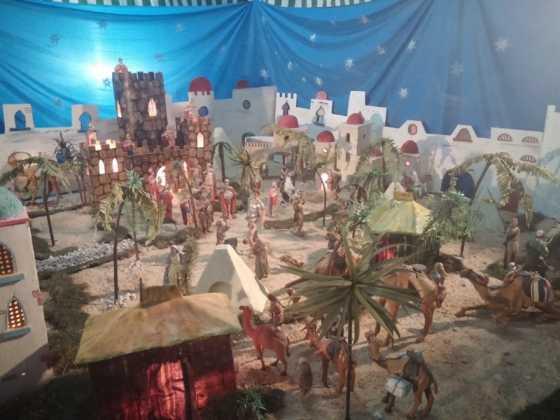 Belen de Jesus Chamusca03 560x420 - Muestra de belenes populares de Herencia. Fotogalería
