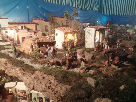 Belen de Jesus Chamusca06 560x420 - Muestra de belenes populares de Herencia. Fotogalería