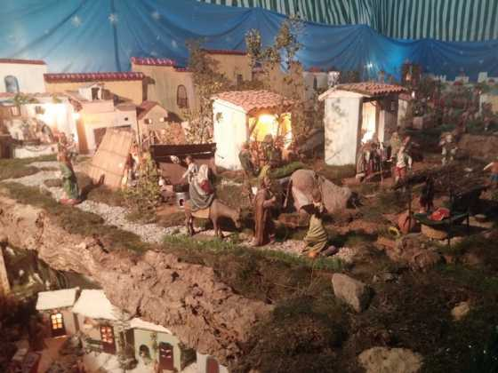 Belen de Jesus Chamusca07 560x420 - Muestra de belenes populares de Herencia. Fotogalería
