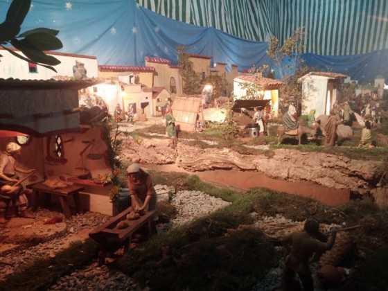 Belen de Jesus Chamusca08 560x420 - Muestra de belenes populares de Herencia. Fotogalería