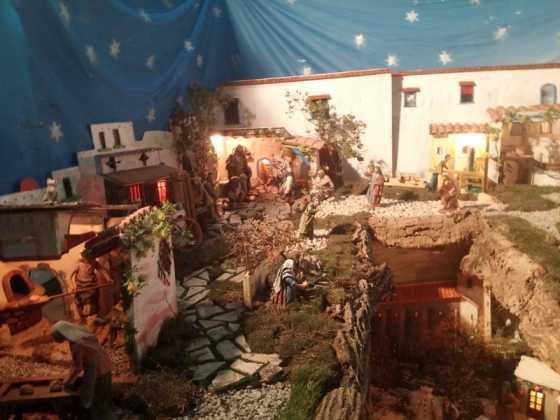 Belen de Jesus Chamusca09 560x420 - Muestra de belenes populares de Herencia. Fotogalería
