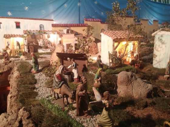 Belen de Jesus Chamusca10 560x420 - Muestra de belenes populares de Herencia. Fotogalería