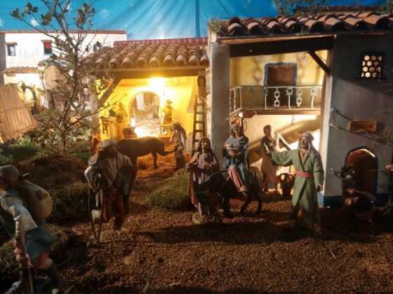 Belen de Jesus Chamusca11 560x420 - Muestra de belenes populares de Herencia. Fotogalería
