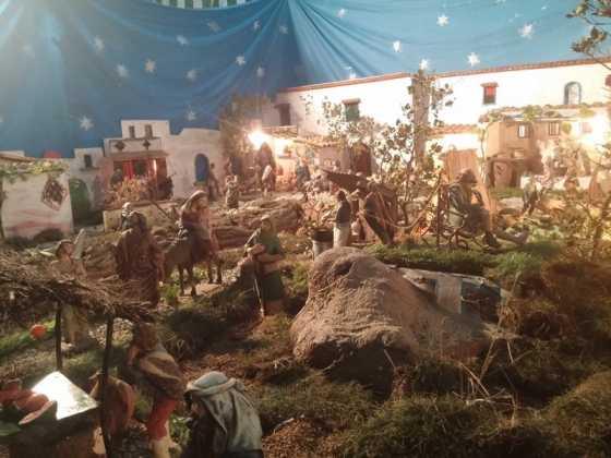 Belen de Jesus Chamusca12 560x420 - Muestra de belenes populares de Herencia. Fotogalería