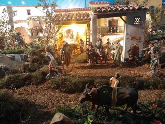 Belen de Jesus Chamusca14 1 560x420 - Muestra de belenes populares de Herencia. Fotogalería