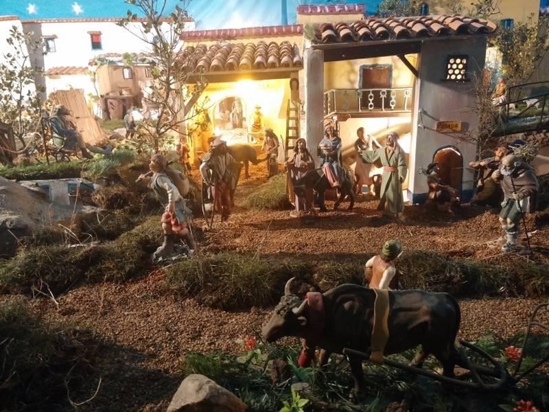 Belen de Jesus Chamusca14 - Muestra de belenes populares de Herencia. Fotogalería
