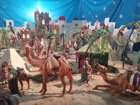 Belen de Jesus Chamusca15 560x420 - Muestra de belenes populares de Herencia. Fotogalería