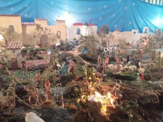 Belen de Jesus Chamusca18 560x420 - Muestra de belenes populares de Herencia. Fotogalería