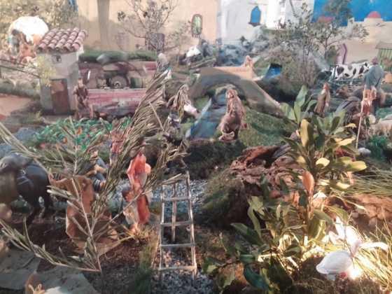 Belen de Jesus Chamusca19 560x420 - Muestra de belenes populares de Herencia. Fotogalería