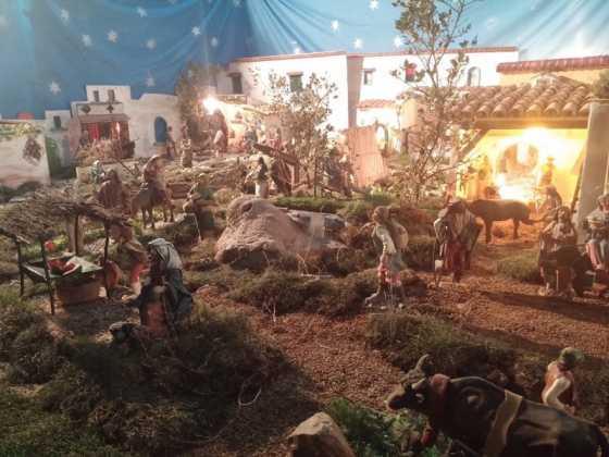 Belen de Jesus Chamusca21 560x420 - Muestra de belenes populares de Herencia. Fotogalería