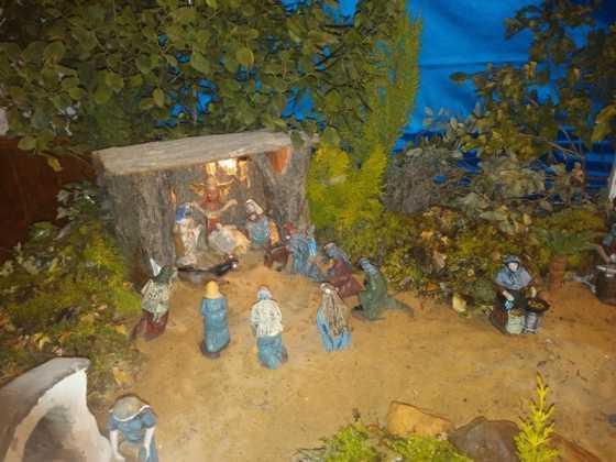 Belen de Juan Sanchez Aguilera01 560x420 - Muestra de belenes populares de Herencia. Fotogalería