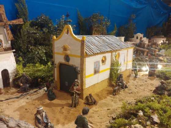 Belen de Juan Sanchez Aguilera06 1 560x420 - Muestra de belenes populares de Herencia. Fotogalería