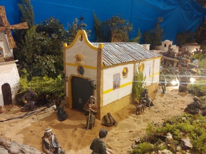 Belen de Juan Sanchez Aguilera06 - Muestra de belenes populares de Herencia. Fotogalería