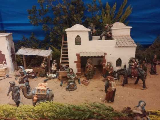 Belen de Juan Sanchez Aguilera09 560x420 - Muestra de belenes populares de Herencia. Fotogalería