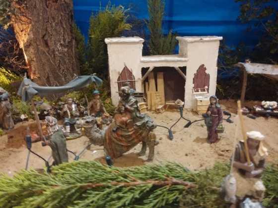 Belen de Juan Sanchez Aguilera11 560x420 - Muestra de belenes populares de Herencia. Fotogalería