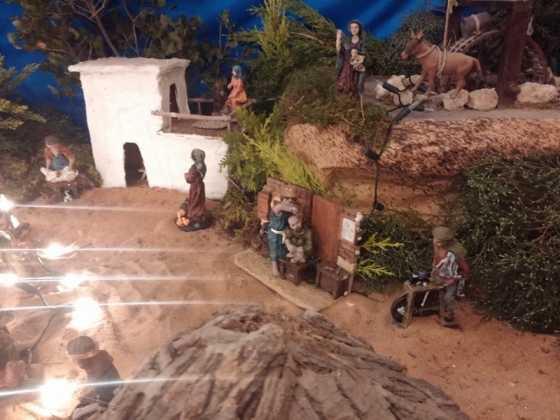 Belen de Juan Sanchez Aguilera16 560x420 - Muestra de belenes populares de Herencia. Fotogalería