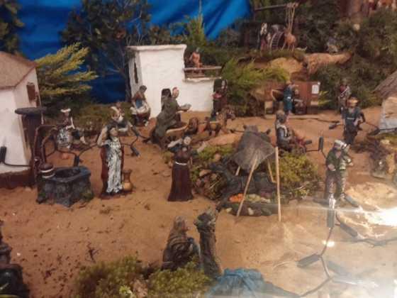 Muestra de belenes populares de Herencia. Fotogalería 64