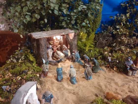 Belen de Juan Sanchez Aguilera21 560x420 - Muestra de belenes populares de Herencia. Fotogalería