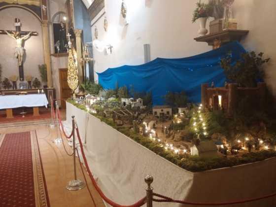Belen de Juan Sanchez Aguilera22 560x420 - Muestra de belenes populares de Herencia. Fotogalería