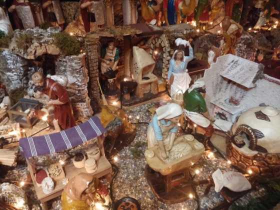 Belen de Maria Gema Gallego de la Sacristana1 560x420 - Muestra de belenes populares de Herencia. Fotogalería