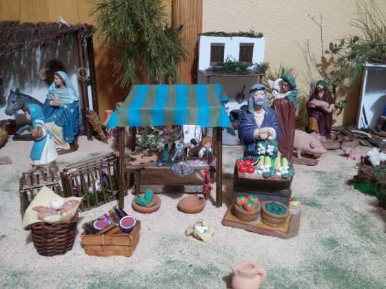 Belen de Maria Isabel Vidal01 560x420 - Muestra de belenes populares de Herencia. Fotogalería