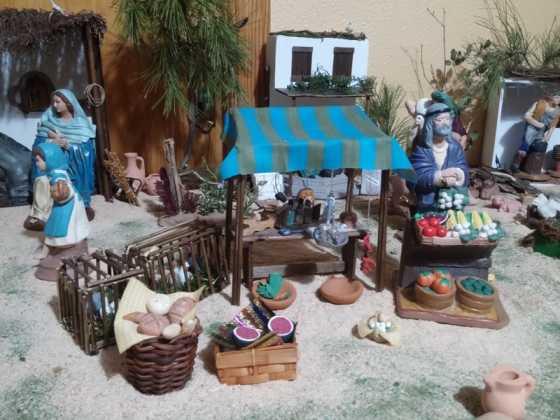 Belen de Maria Isabel Vidal03 560x420 - Muestra de belenes populares de Herencia. Fotogalería