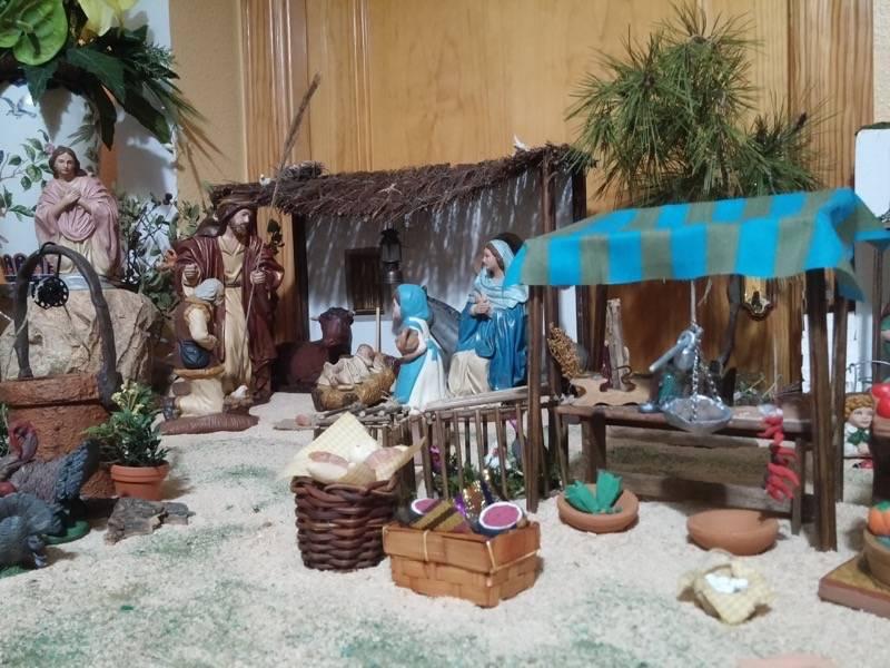 Belen de Maria Isabel Vidal06 - Muestra de belenes populares de Herencia. Fotogalería