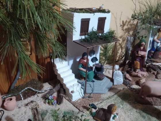 Muestra de belenes populares de Herencia. Fotogalería 46