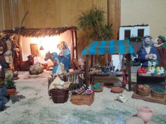 Belen de Maria Isabel Vidal11 560x420 - Muestra de belenes populares de Herencia. Fotogalería