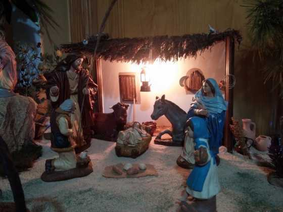 Belen de Maria Isabel Vidal14 560x420 - Muestra de belenes populares de Herencia. Fotogalería