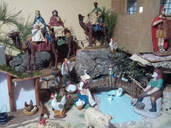 Belen de Maria Isabel Vidal17 560x420 - Muestra de belenes populares de Herencia. Fotogalería