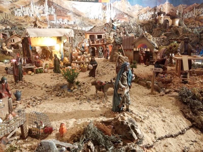Belen familia Gallego de la Sacristana Glez Ortega19 - Muestra de belenes populares de Herencia. Fotogalería