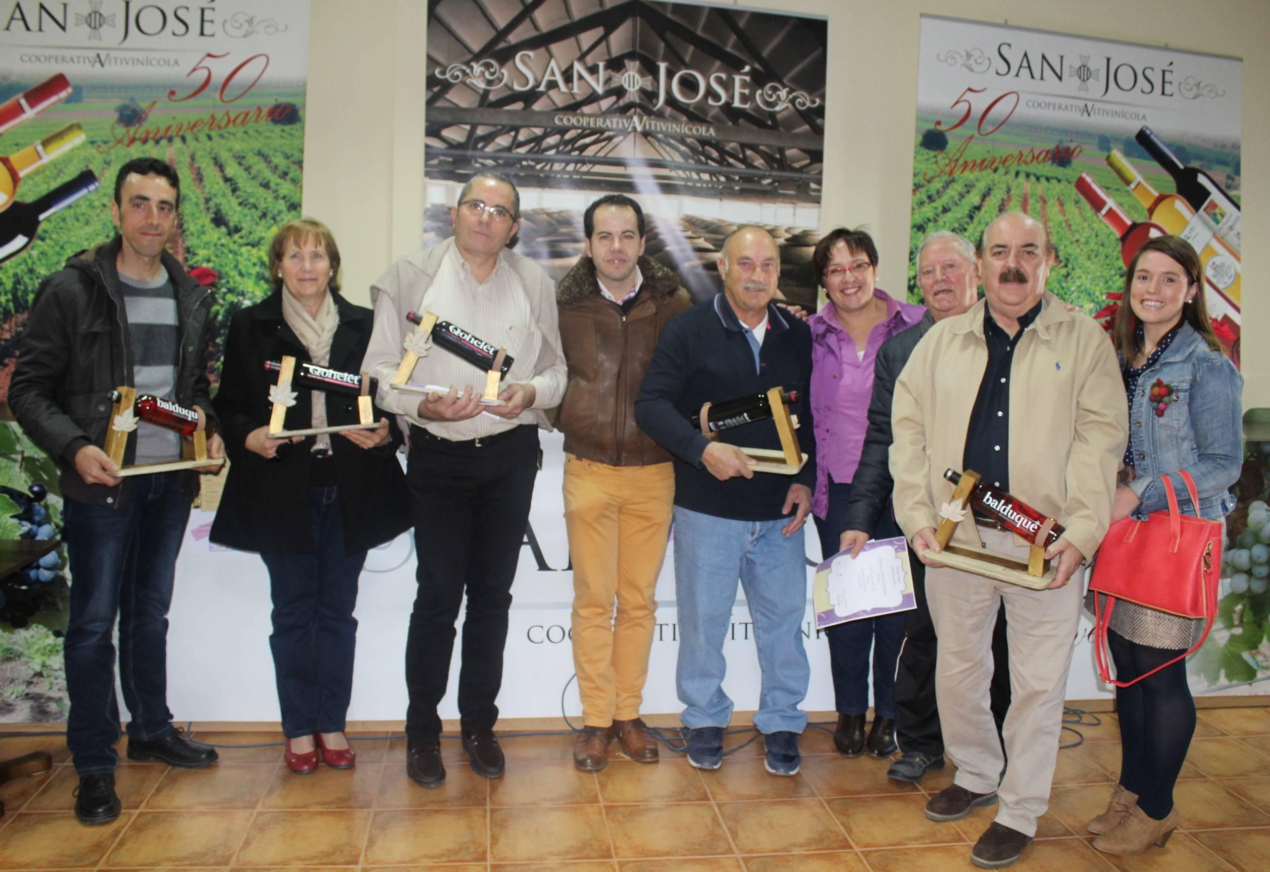 Carmen Olmedo en certamen vinos Herencia