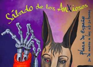 Cartel Carnaval de Herencia Sabado de los Ansiosos 2016