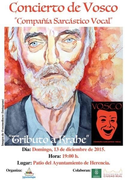Barco de Colegas organiza un concierto de Vosco 1