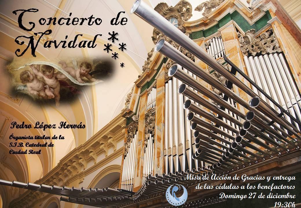 Concierto de Navidad del órgano barroco parroquial