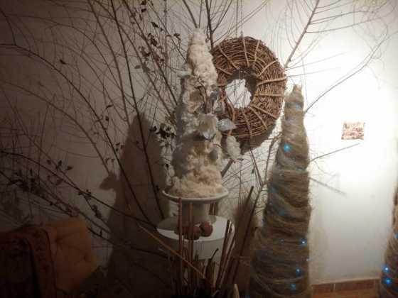 Exposicion de Navidad Decoracion de Interiores de Herencia01 560x420 - Fotogalería de la exposición de decoración Bodegones de Navidad