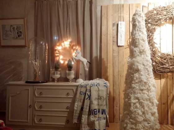 Exposicion de Navidad Decoracion de Interiores de Herencia12 560x420 - Fotogalería de la exposición de decoración Bodegones de Navidad